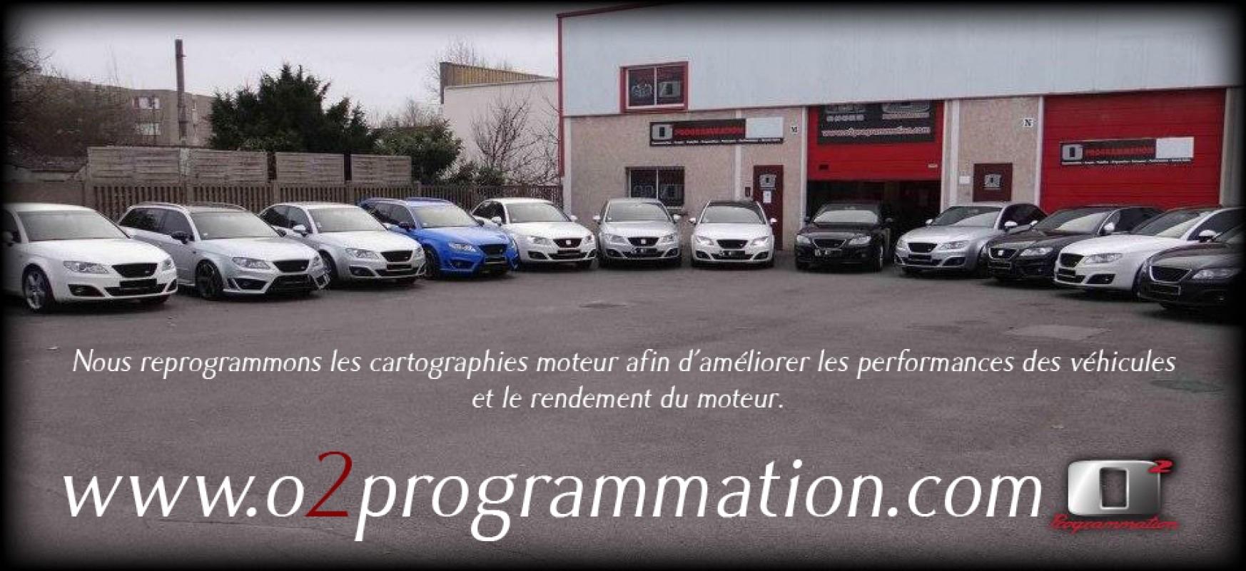 O2programmation Modification Boitier électronique Reprogrammation